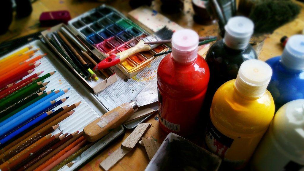 Palette aquarelle matériel aquarelle kit aquarelle débutant